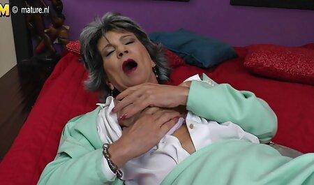 Stripper zuigende bondage soft porno cliënt ' s lul